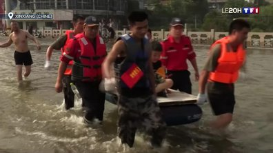 Après les inondations dévastatrices, la Chine menacée par un typhon