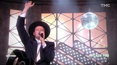"""Arcade Fire : """"Put your money on me"""" en live pour Quotidien"""