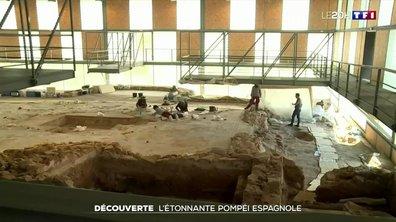 """Archéologie : l'incroyable """"Pompéi espagnole"""""""