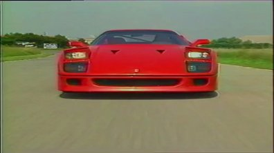 Archives Automoto: Le premier essai de la Ferrari F40 !