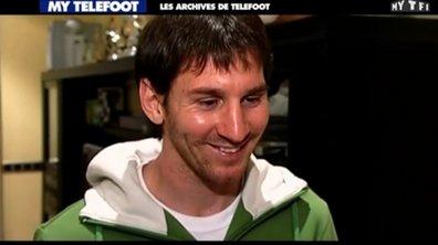 Les archives de Téléfoot : Messi reçoit son premier Ballon d'Or