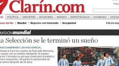 """Argentine, """"le rêve est fini"""""""