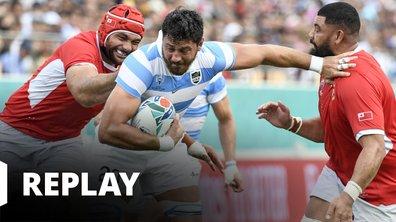 Argentine - Tonga (Coupe du monde de rugby - Japon 2019)