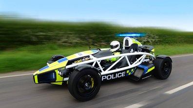 Insolite : la Police britannique en Ariel Atom 3.5R !