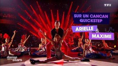 """La séquence """"crazy"""" : Arielle Dombasle en danseuse du Moulin Rouge"""