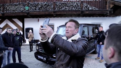 Insolite : Arnold Schwarzenegger présente le Classe G électrique de Kreisel Electric