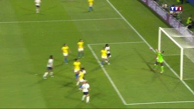 France - Brésil (1 - 1) : Voir la tête de Diani en vidéo