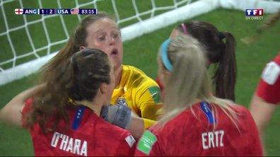 Angleterre - USA (1 - 2) : Voir le penalty arrêté par Naeher en vidéo
