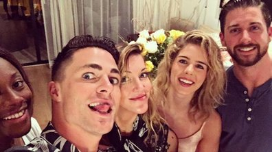 Arrow : Katie Cassidy a fêté ses 30 ans à Hawaï avec Colton Haynes