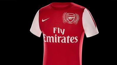 Arsenal : découvrez le maillot anniversaire du club !