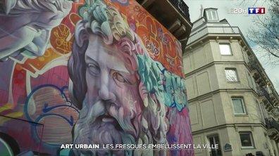 Art urbain : ces fresques qui embellissent les villes