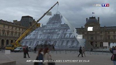 Art urbain : les collages s'affichent en ville
