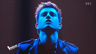 """The Voice 2021 – Arthur chante """"Le chanteur"""" de Daniel Balavoine (Demi-finale)"""