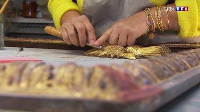 Artisans d'art : le savoir-faire millénaire d'une doreuse sur bois