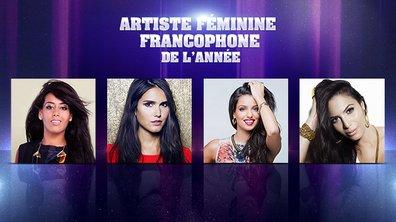 NRJ Music Awards - Artiste Féminine francophone de l'année : les nommées