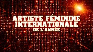 Artiste Féminine Internationale de l'année - Pré-nominations - NRJ Music Awards 2013