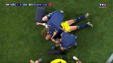 Pays-Bas - Suède (1 - 0) : Voir la sortie sur blessure d'Asllani en vidéo
