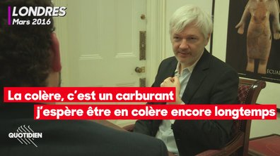 Chaouch Express : les extraits inédits de l'interview de Julian Assange