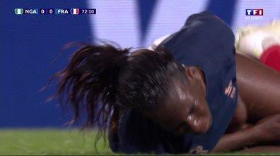 Nigeria - France (0 - 0) : Voir la faute sur Asseyi qui donne penalty aux Bleues en vidéo