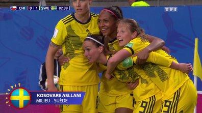 Chili - Suède (0 - 1) : Voir le but d'Asllani en vidéo