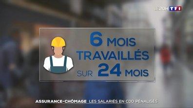 Assurance-chômage : les salariés en CDD pénalisés