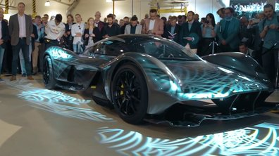 Aston Martin-Red Bull AM-RB 001 : présentation officielle à Gaydon