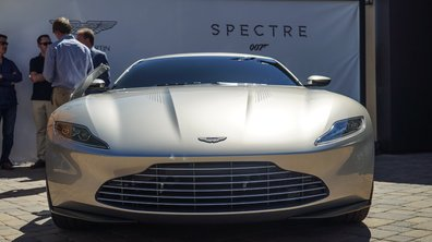 L'Aston Martin DB10 de James Bond en vente aux enchères