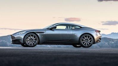 Aston Martin DB11 2016 : une nouvelle poignée de photos en fuite