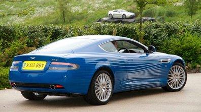 Aston Martin DB9 célèbre ses fans avec une voiture spéciale