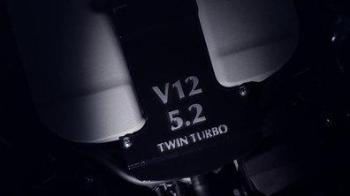 Aston Martin tease son nouveau moteur V12 turbo