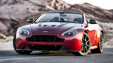 Nouvelle Aston Martin V12 Vantage S Roadster 2014 : un jubilé aux 573 ch ?
