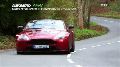 Essai Vidéo - Exclu : Aston Martin V12 Vantage S Roadster