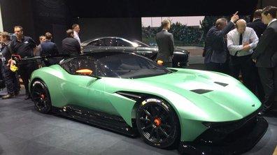 Salon de Genève 2015 : l'Aston Martin Vulcan entre en piste
