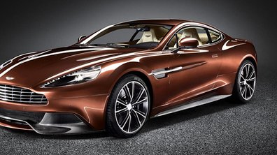 Mondial de l'Auto 2012 : Aston Martin remet sa Vanquish au goût du jour