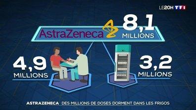 AstraZeneca : que faire des millions de doses qui dorment dans les frigos ?