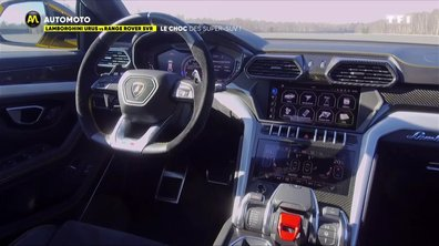 Lamborghini Urus vs Range Rover SVR : le verdict