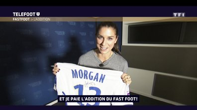 [Téléfoot 12/02/2017] Addition du Fast Foot : Gagnez le maillot de l'OL d'Alex Morgan