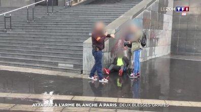 Attaque à l'arme blanche à Paris : le rappel des faits