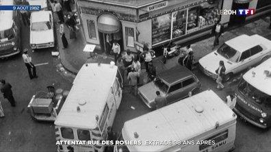 Attentat rue des Rosiers : un auteur présumé extradé en France 38 ans après
