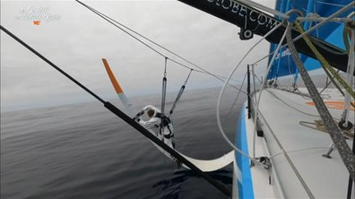 Au cœur du Vendée Globe J20 : opération foilover pour Thomas Ruyant