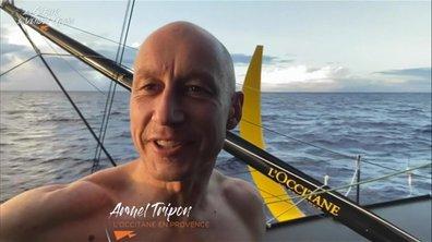 Au cœur du Vendée Globe J68 : Armel Tripon est heureux d'être sur l'eau