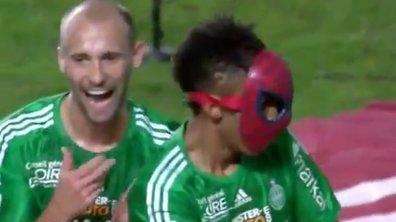 ASSE: Aubameyang super-héros face à Rennes