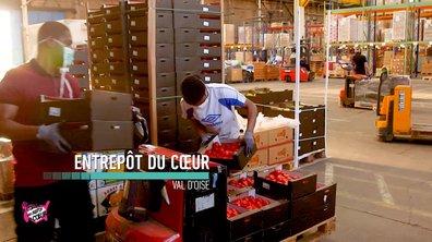 Entrepôt (Argenteuil) - Au coeur des Restos du Coeur du 21 juillet 2020