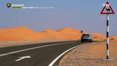 Audi E-Tron : Dans la ville du futur