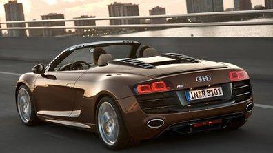 Audi R8 Spyder : les tarifs
