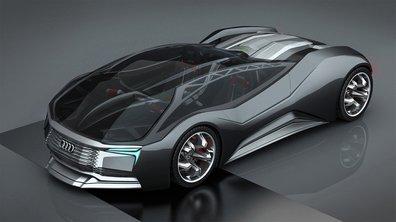 Une supercar Audi Mesarthim F-Tron Concept à propulsion nuclaire