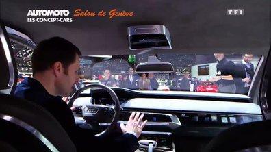 Audi Prologue Avant Concept ou la folie du tout écran à bord