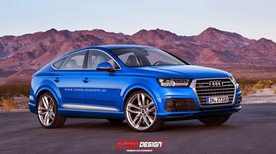 Une proposition de design pour le futur Audi Q8
