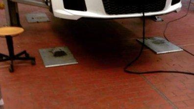 Future Audi R8 2015 : première fuite ?