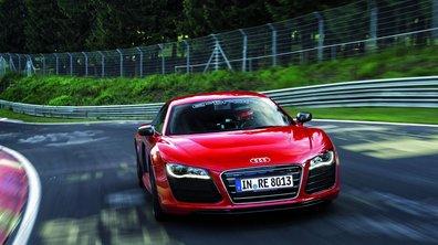 Vidéo : Audi R8 e-tron sur le Nürburgring